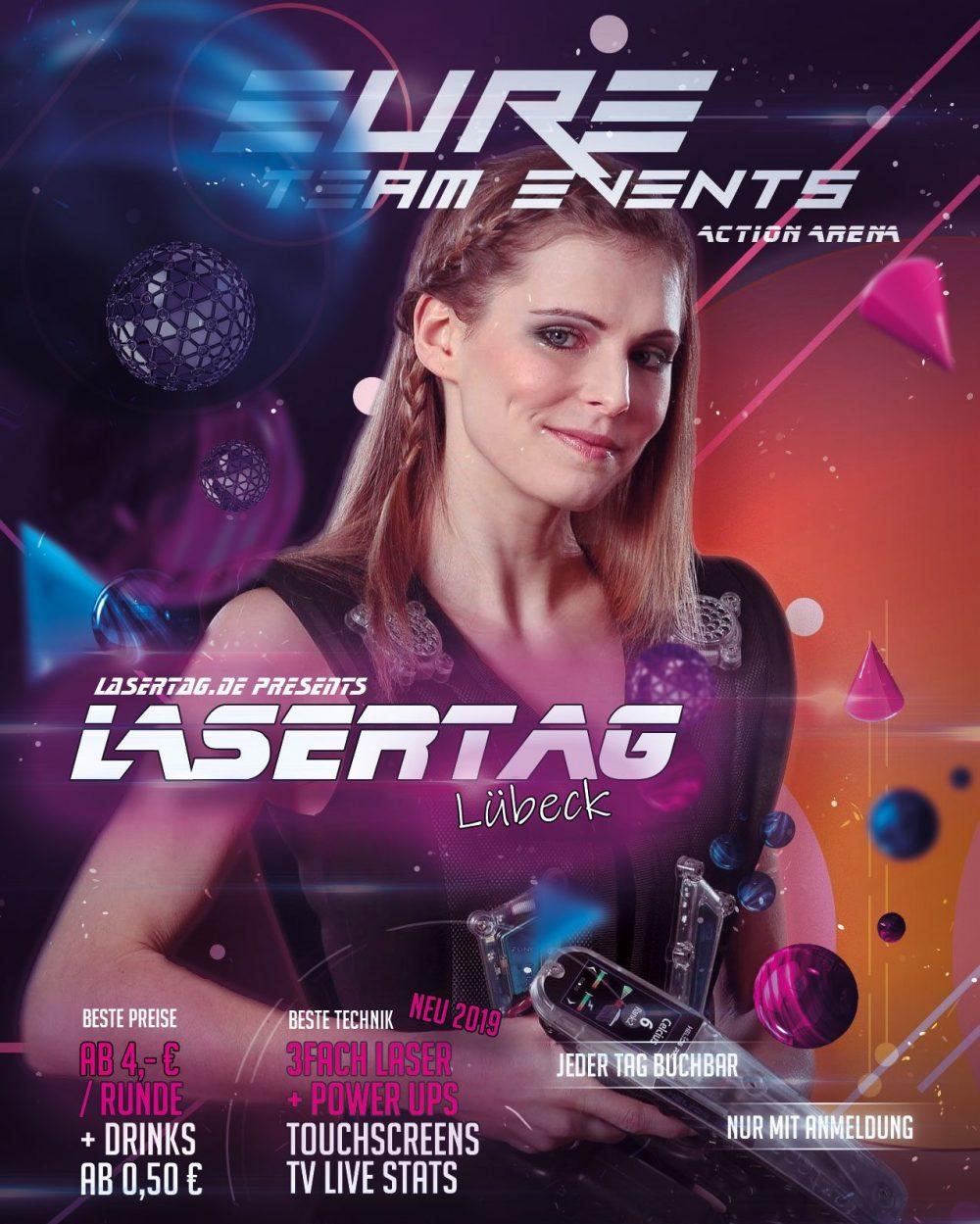 LasertagLuebeckFlyer2019Front